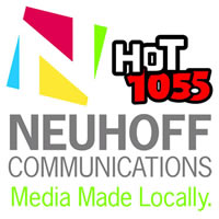 Neuhoff Communications | Hot 105.5 logo